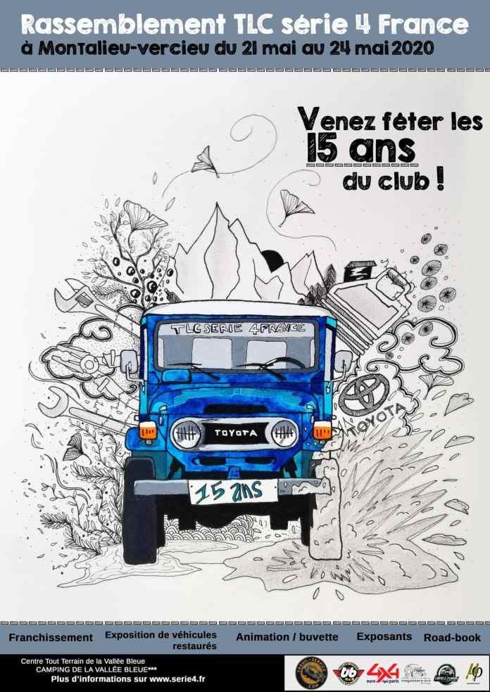 Rassemblement Toyota TLC Serie 4 de France 2020