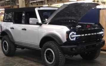 Ford Le Bronco 2020 arrive