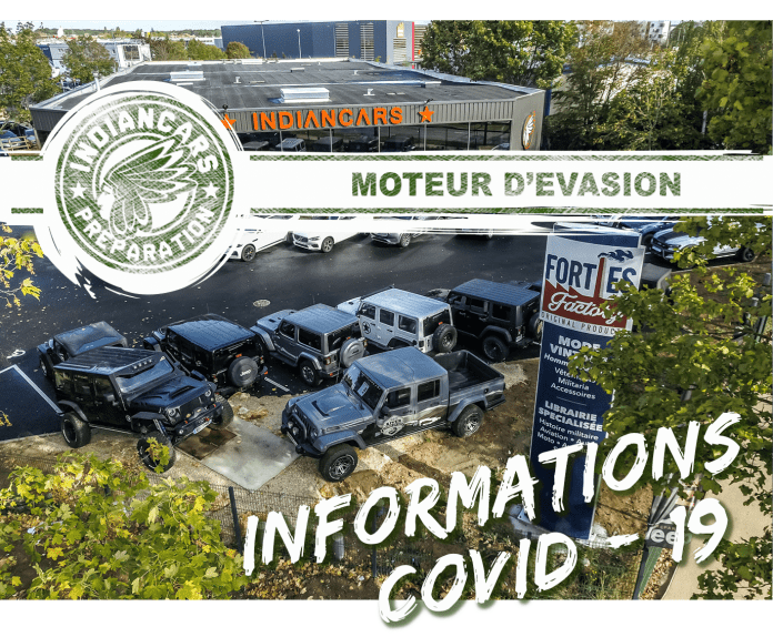 indiancars ouverture COvid 19