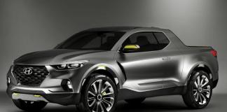 Le Concept Car du Pick up Hyundai Santa Cruz présenté en 2015 devrait être dévoilé fin 2021.