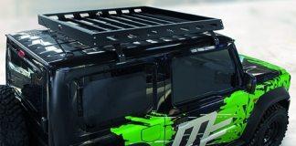 L'équipe de passionnés vous propose un nouvel équipement pour votre Jimny 2019 ! La galerie de toit Masterforest