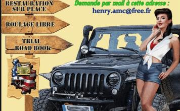 Le Club Jeep Bourgogne fête ses 20 ans 15ème édition du Burgundy Jeep Trophy,