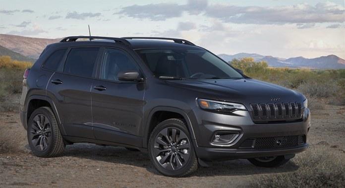 2021 Jeep Grand Cherokee 80th Anniversary Edition.
