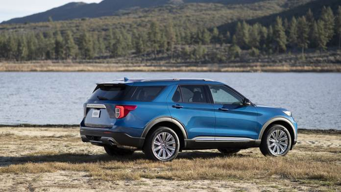 All-new Explorer Hybrid is a no-compromise Ford hybrid SUV designed to offer performance and capability in a fuel-efficient package.