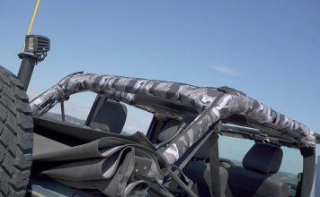 Muddy colors La Haute Couture au service de vos voitures Housse d'arceau personnalisée pour 4X4