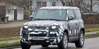 Land Rover Bientôt un 90 V8 Un V8 pour le châssis court ?