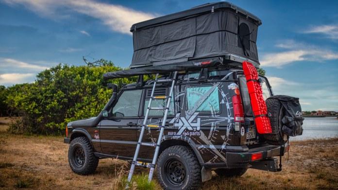 Tente Ever'Black L avec ventilateur solaire Euro4x4parts