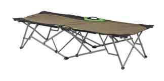 Ironman 4x4 Le lit de camp Ironman 4x4 peut supporter jusqu'à 150 kilos.