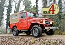 Serie4.be suspensions Toyota BJ et FJ Des suspensions Terrain Tamer pour les Serie 4