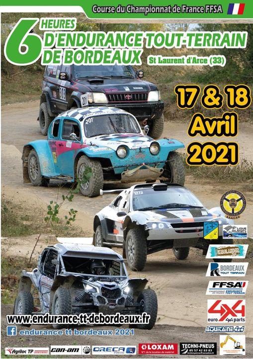 Championnat de France d'Endurance 4x4 2021 6 Heures de Bordeaux