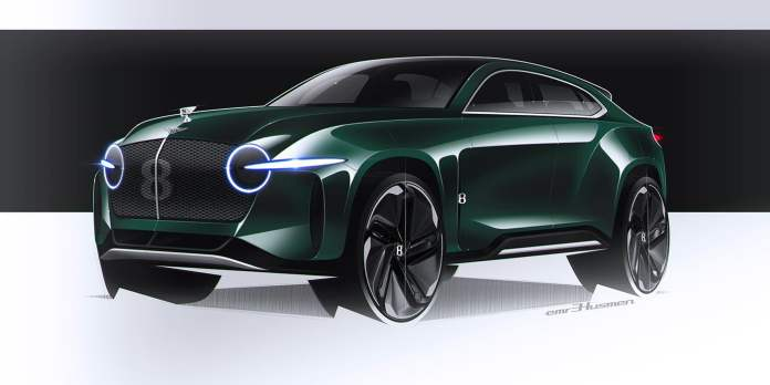 Bentley Emre Husmen EXP8 Concept Dessine-moi un SUV