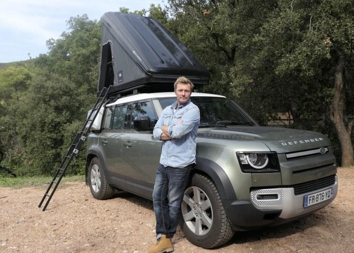 Land Rover et l'école des explorateurs Alban Michon choisit Land Rover pour l'accompagner dans ce nouveau défi