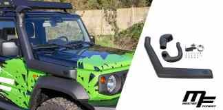 Masterforest Un schnorkel pour le Jimny Conçu pour le nouveau Suzuki
