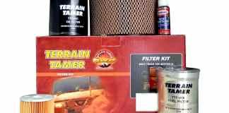 Terrain Tamer Des filtres renforcés Du costaud pour l'aventure