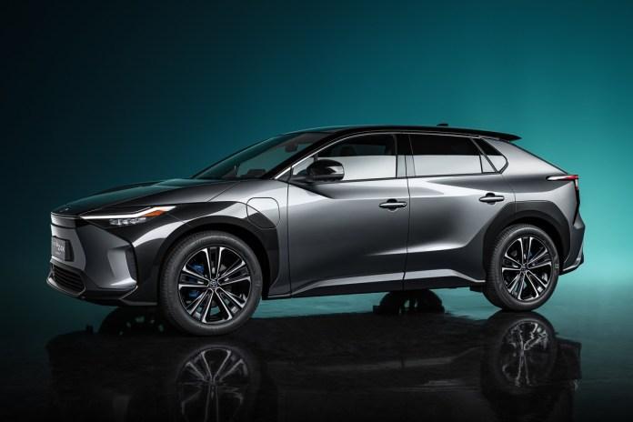 Toyota Le concept bZ4X Le nouveau SUV full électrique