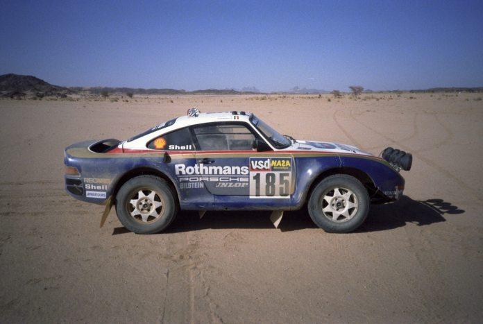 Paris - Dakar 1985 « Bad day » pour Jacky Ickx