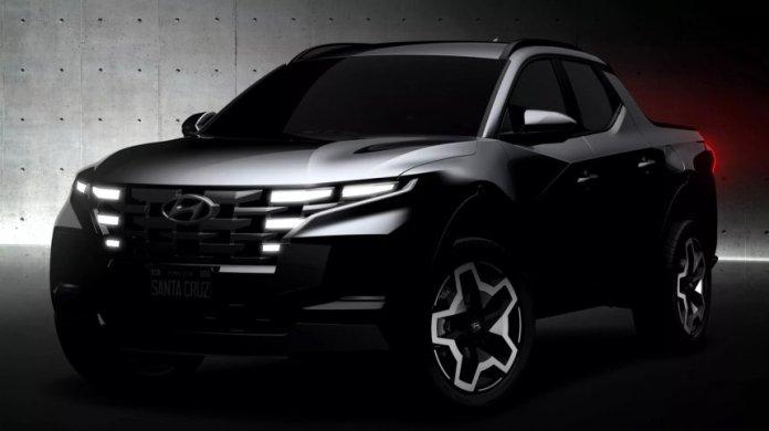 Hyundai - Un pick up pour 2022 Le Santa Cruz arrive