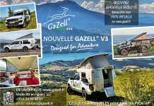 "Camp' Car Location Gazell"" Rent a Gazell"" V3"