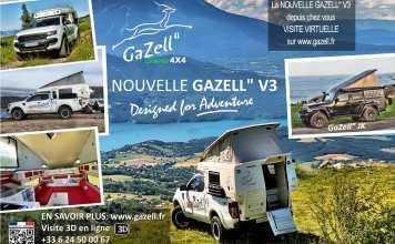 "Camp' Car Location Gazell"" Rent a Gazell"" V3"