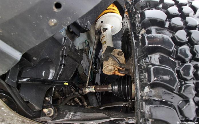 Ironman 4x4 suspensions pour Duster Kit + 40 mm
