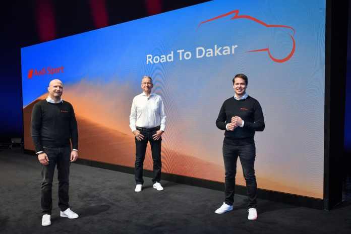 Dakar 2022 : Peterhansel et Sainz sur Audi électrique Après Peugeot et Mini, les ténors du rallye raid relèvent le défi