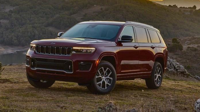 Jeep Grand Cherokee L en 2022 Version 7 places