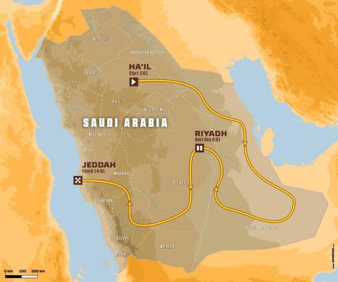 Dakar 2022 présentation Des dunes à perte de vue
