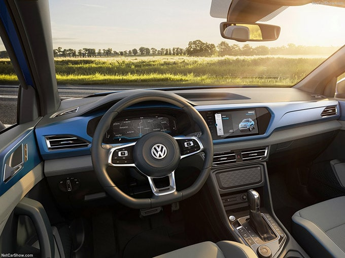 Volkswagen Le Pick-up Tarok D'abord 'Amérique du Sud !