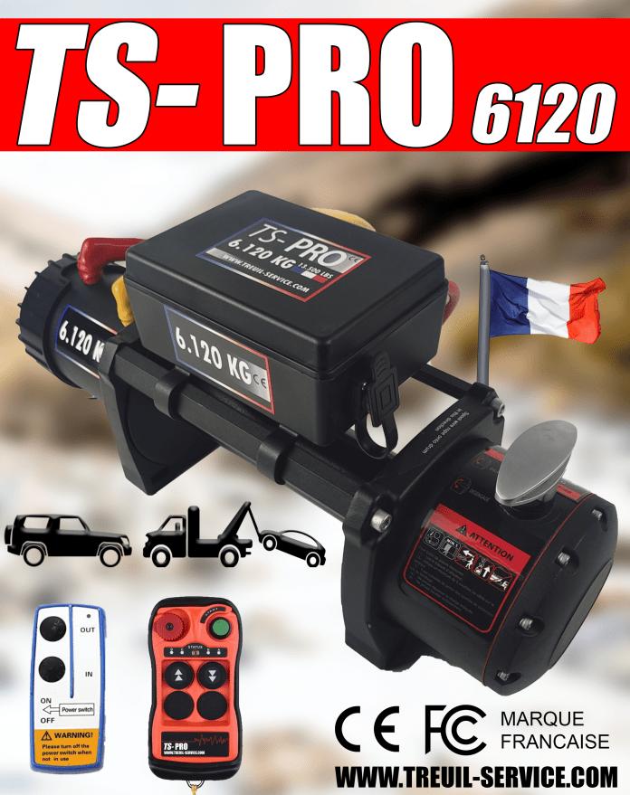 Treuil Service la gamme TS-Pro Au service des amateurs d'off road hard