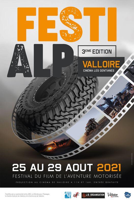 Festi Alp cinéma aventure Valloire 2021