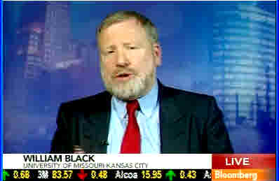 William K. Black <font face=Arial size=-2>(Source: Bloomberg TV)</font>