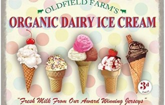 crème glacée biologique