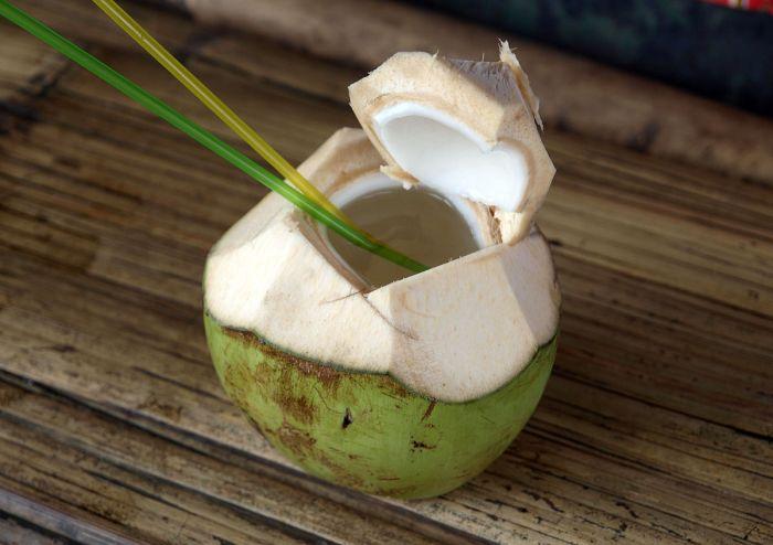 vertu lait de coco