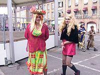 maquillage carnaval dunkerque femme