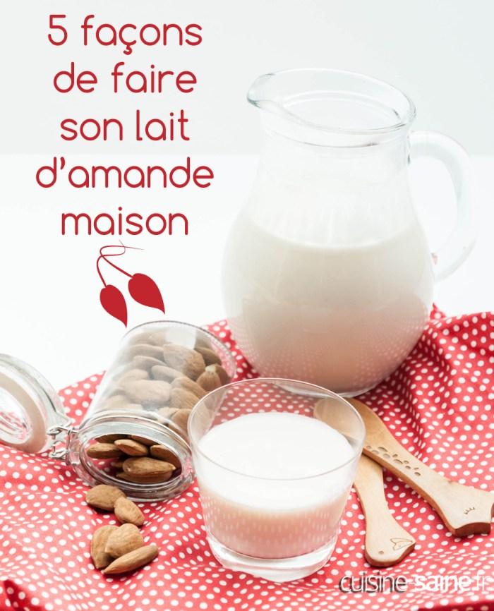lait d amande en poudre bio