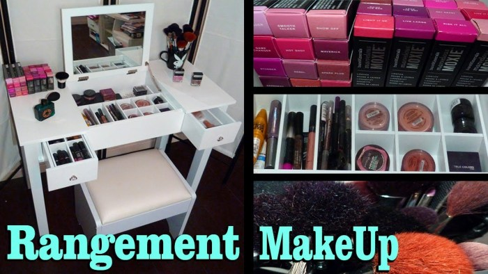 site rangement maquillage