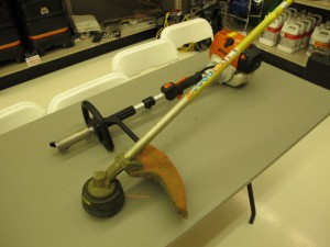 lawn & garden rental 09-1013 Stihl weed cutter combo tool