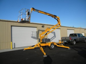 rental ladder Bil-Jax Highlift 45