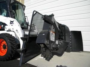 rental excavation tools Bobcat Stump Grinder Attachment