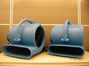 Rental Drieaz Carpet Blower Fan