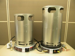 rental Heaters 80000 BTU and 200000 BTU propane