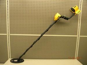 misc rental tools garret metal detector