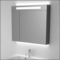 Spiegelschrank Bad Mit Beleuchtung 80 Cm   Beleuchthung ...