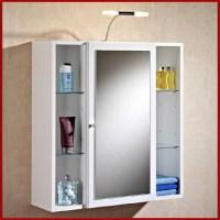 Badezimmer Spiegelschrank Klein Mit Beleuchtung ...