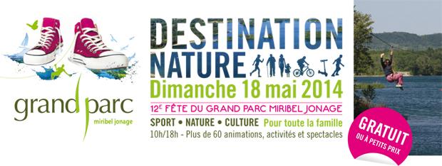 Destination Nature Grand Parc Miribel