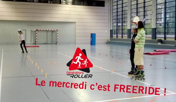 Freeride Générations Roller Slalom Roller Acrobatique freinage