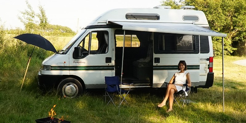 living in a van full time as an older digital nomad