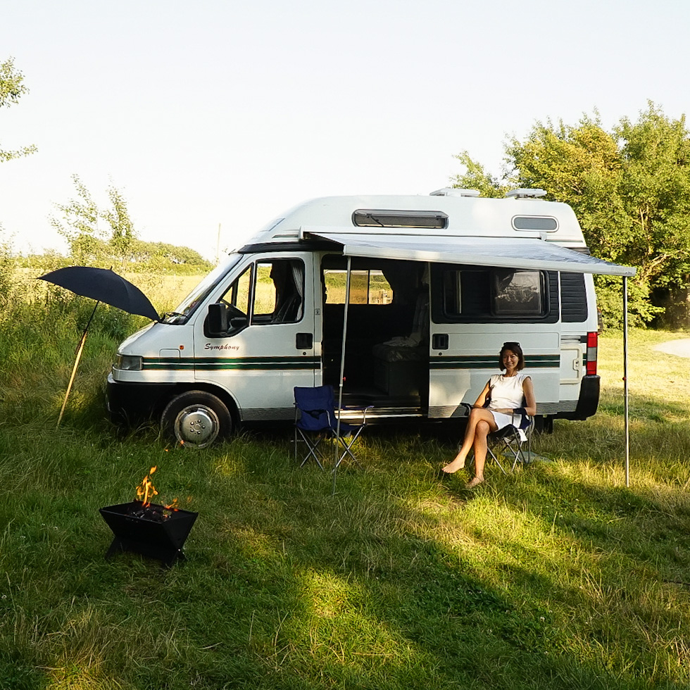 living in a van full time as an older digital nomad