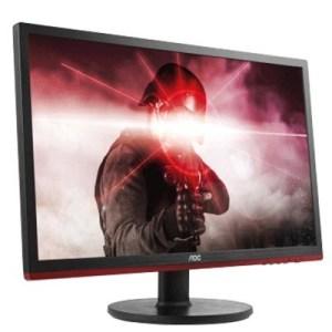 "MONITOR AOC LCD LED 24"" WIDE G2460VQ6 1MS MM FHD 1000:1 BLACK VGA HDMI DP VESA"