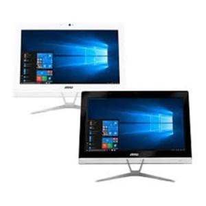 """LCDPC TOUCH MSI PRO 20EXTS 8GL-051XEU 19.5"""" BLACK N4000 8GBDDR4 256SSD FREEDOS ODD WIFI BT 7USB CAM HDMI T+M CARDR 2XCOM GLAN 2Y"""